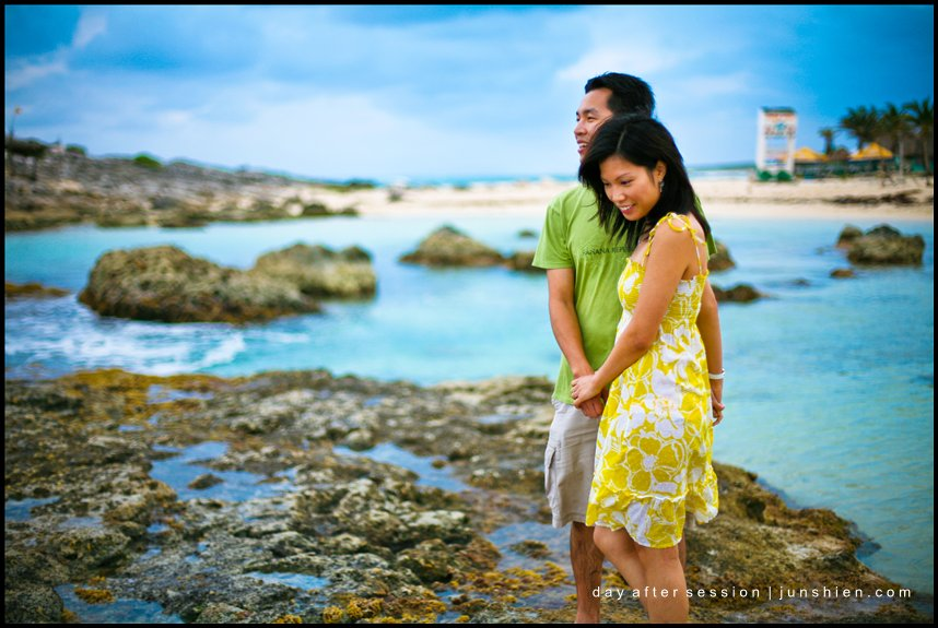 Cozumel Mexico engagement picture