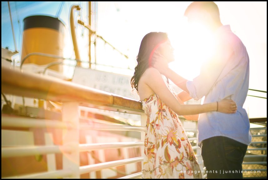 San Francisco engagement session pictures