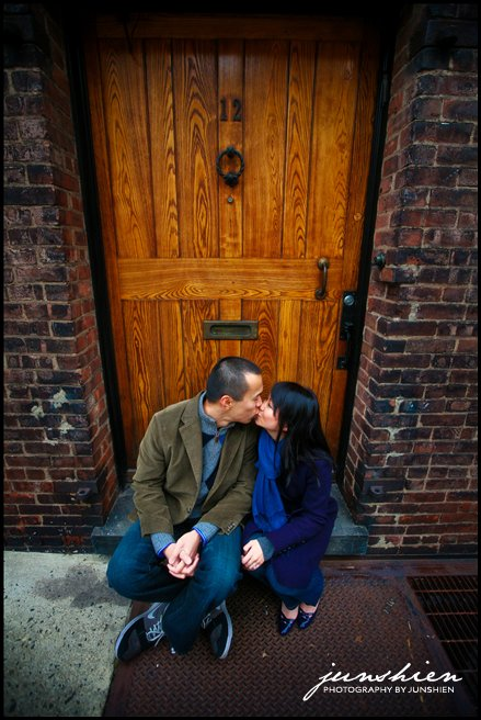 New York City engagement session photography