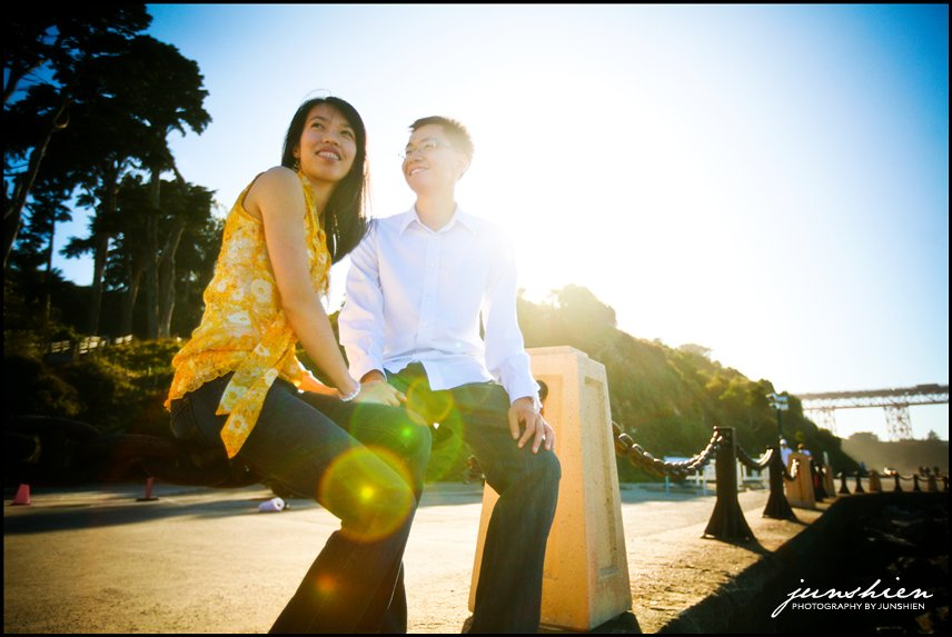 San Francisco engagement session photographer