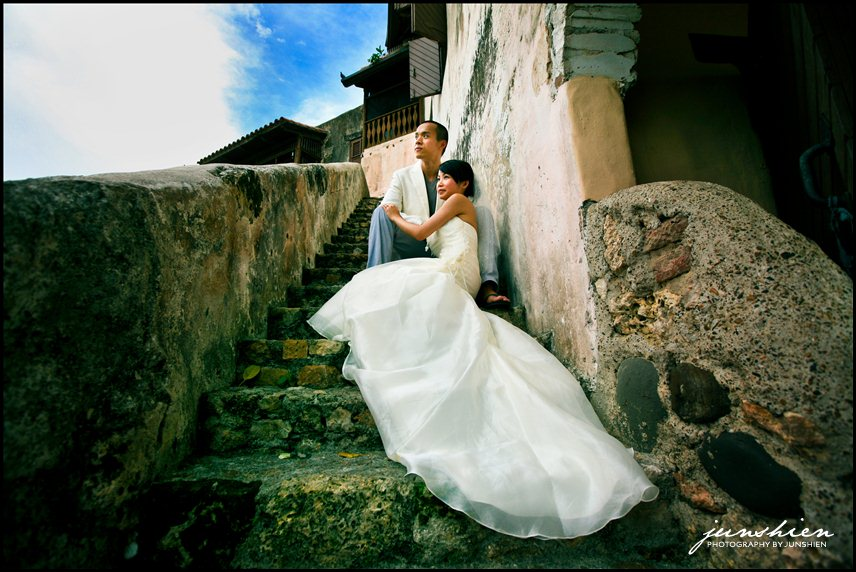 30 AmyJohnBridal 10386 v1 Dominican Republic wedding photographer | Altos de Chavón, La Romana | Day after session | Amy and John