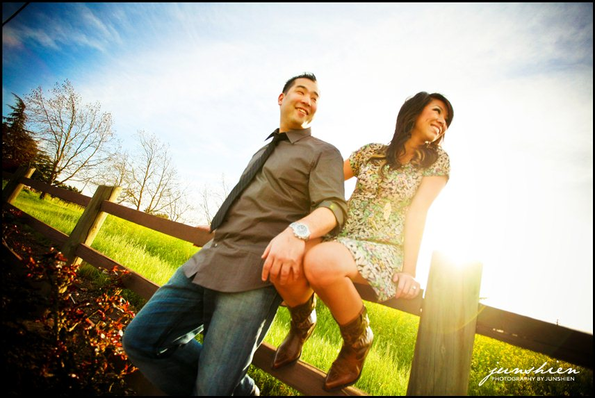 34 EmilyHodakaSession 582 Sonoma engagement session photographer | Sonoma Town Square | Emily and Hodaka