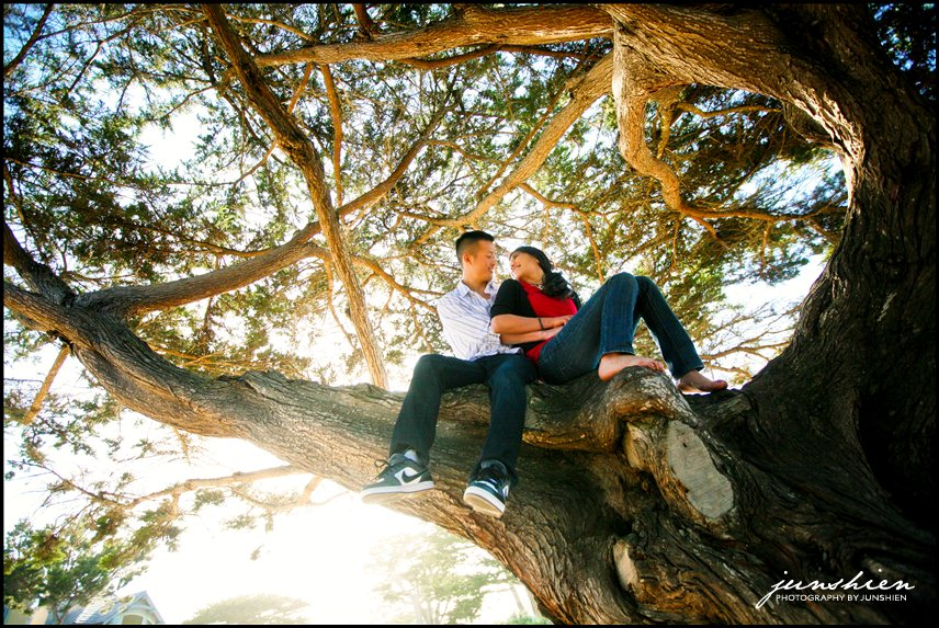 15 ShuyinDaveSession 236 Monterey engagement session photographer | Carmel Beach | Shuyin and Dave